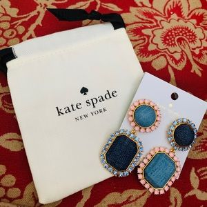 Kate Spade Denim Dreams Earrings